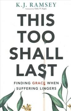Book Cover: 'This too shall last'