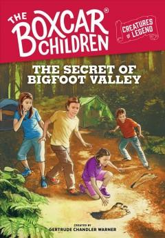 Book Cover: 'The secret of Bigfoot Valley'