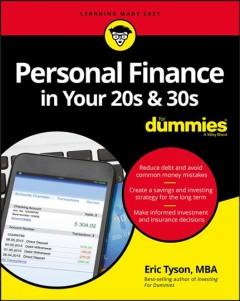 Personal finance in your 20s 30s for dummies