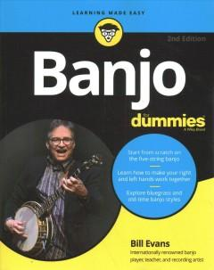 Book Cover: 'Banjo for dummies'