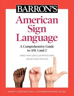 Book Cover: 'Barrons American Sign Language'