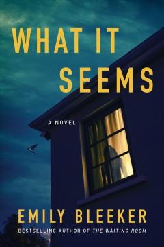 Book Cover: 'What it seems'