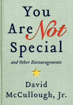 'You Are Not Special and Other Encouragements' by David McCullough Jr.