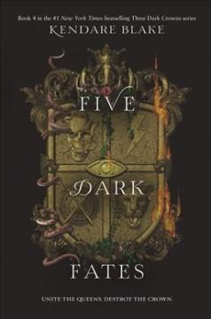 Book Cover: 'Five dark fates'