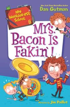 Book Cover: 'Mrs Bacon is fakin'