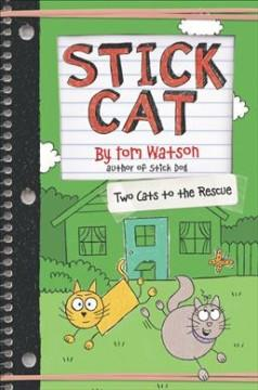 Book Cover: 'Two cats to the rescue'