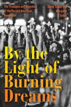 Book Cover: 'By the light of burning dreams'