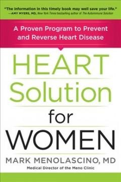 Book Cover: 'Heart solution for women'