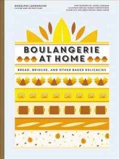 Book Cover: 'Boulangerie at home'