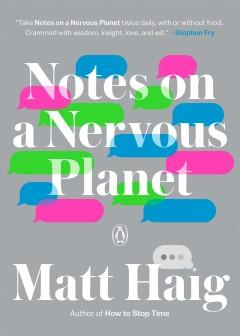 Book Cover: 'Notes on a nervous planet'