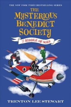 Book Cover: 'The mysterious Benedict Society and the riddle of ages'