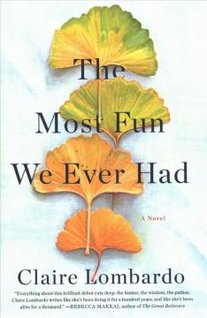 Book Cover: 'The most fun we ever had'