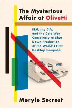 Book Cover: 'The mysterious affair at Olivetti'