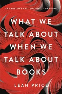 Book Cover: 'What we talk about when we talk about books'
