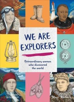 Book Cover: 'We are explorers'