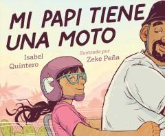Book Cover: 'My papi has a motorcycle Spanish'