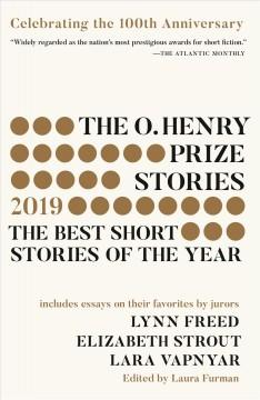 Book Cover: 'The O Henry Prize stories 2019'