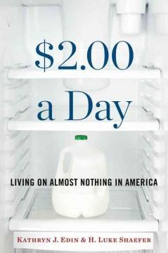 Cover: '$2.00 a Day: Living on Almost Nothing in America'