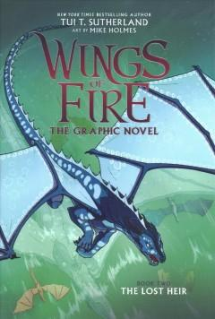 Book Cover: 'Wings of fire Book two The lost heir'