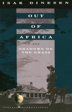 Out of Africa book cover
