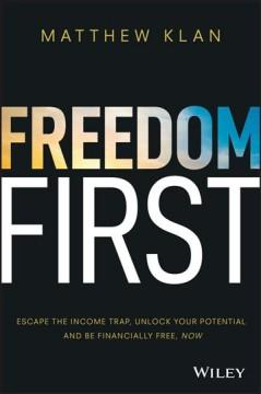 Book Cover: 'Freedom first'