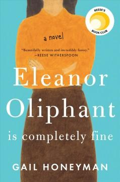 Cover: 'Eleanor Oliphant Is Completely Fine'