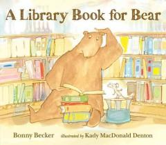 'A Library Book for Bear' by Bonny Becker