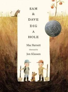 'Sam and Dave Dig a Hole'  by  Mac Barnett