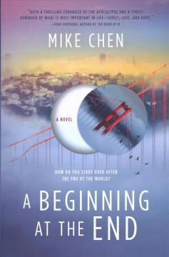 Book Cover: 'A beginning at the end'