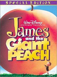 James and the Giant Peach DVD cover