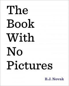 Cover: 'The Book With No Pictures'