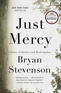 'Just Mercy: A Story of Justice and Redemption' by Bryan Stevenson