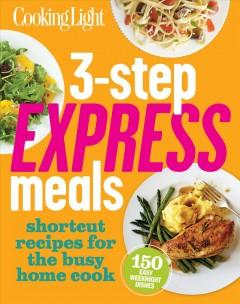 Cover: '3-Step Express Meals'