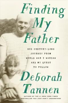 Book Cover: 'Finding my father'