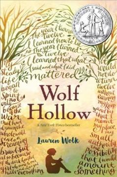'Wolf Hollow' by Lauren Wolk