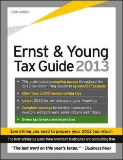 THE ERNST  YOUNG TAX GUIDE 2013