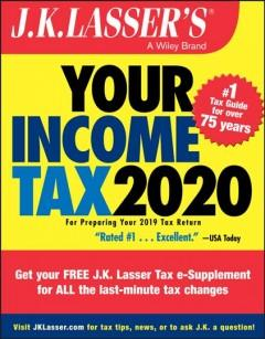 Book Cover: 'JK Lassers your income tax 2020'