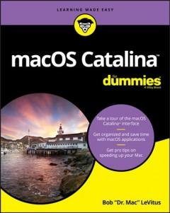 Book Cover: 'MacOS Catalina'