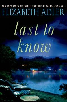 'Last to Know' by Elizabeth Adler