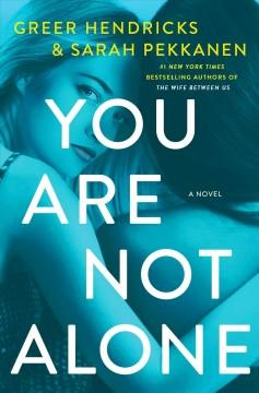 Book Cover: 'You are not alone'