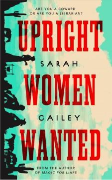 Book Cover: 'Upright women wanted'