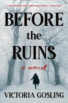 Book Cover: 'Before the ruins'