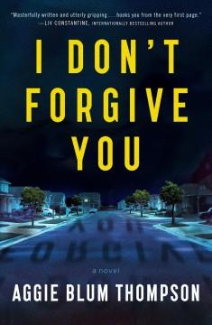 Book Cover: 'I dont forgive you'