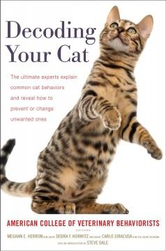 Book Cover: 'Decoding your cat'