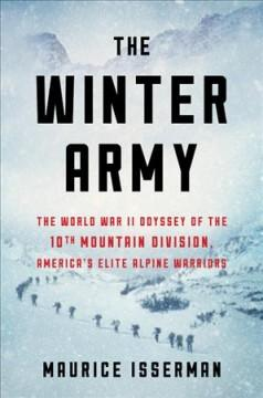 Book Cover: 'The winter army'