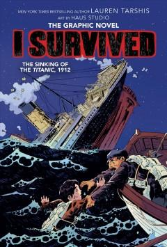 Book Cover: 'I survived The sinking of the Titanic 1912'