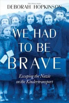 Book Cover: 'We had to be brave'