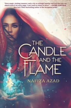Book Cover: 'The candle and the flame'