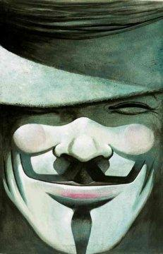 'V for Vendetta' by Alan Moore