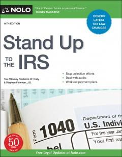 Book Cover: 'Stand Up to the IRS'